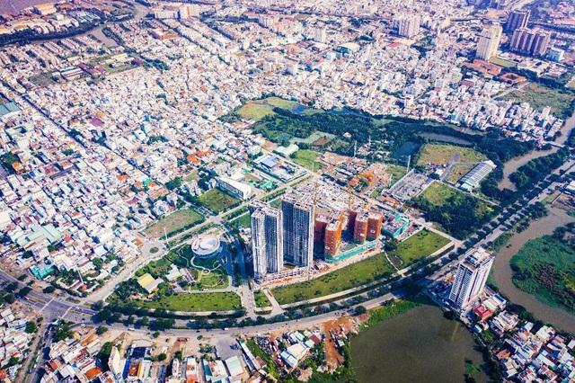 Ấn tượng với tiến độ xây dựng tại Eco Green Saigon - 1