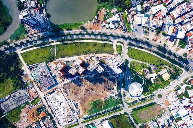Ấn tượng với tiến độ xây dựng tại Eco Green Saigon - 2