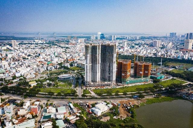 Ấn tượng với tiến độ xây dựng tại Eco Green Saigon - 3