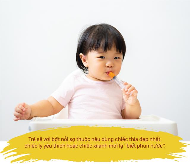 8 mẹo hay giúp trẻ uống thuốc 'dễ như ăn kẹo' - 2