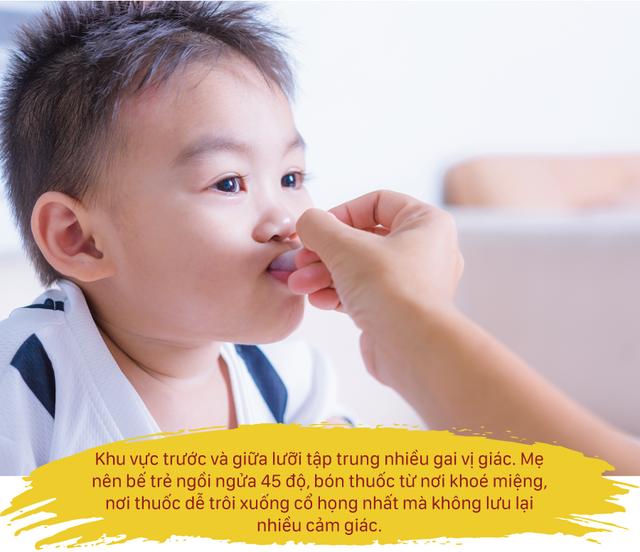 8 mẹo hay giúp trẻ uống thuốc 'dễ như ăn kẹo' - 3