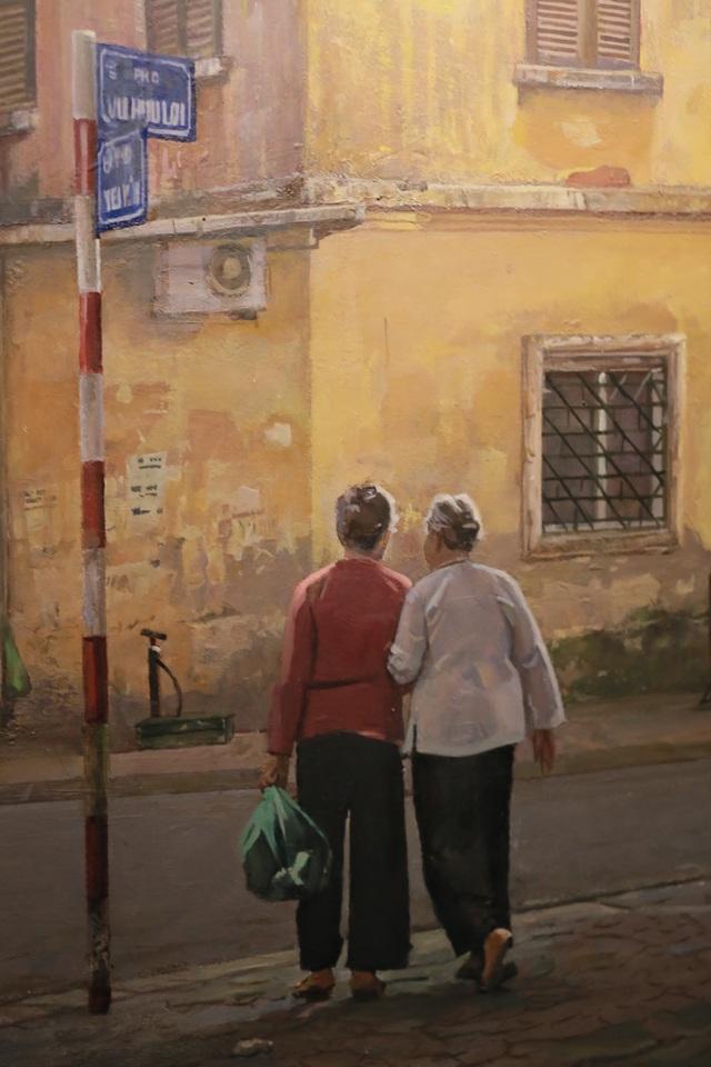 Hà Nội thanh bình qua những bức tranh xuống phố của Phạm Bình Chương - 3