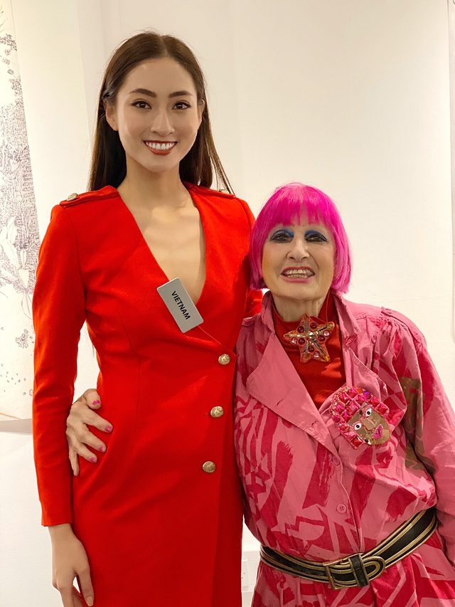 Chủ tịch Hoa hậu Thế giới ngợi khen dự án Nhân ái của Lương Thuỳ Linh - 4