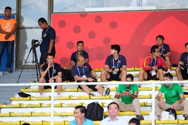 """HLV Park Hang Seo """"do thám"""" U22 Thái Lan và U22 Indonesia - 1"""