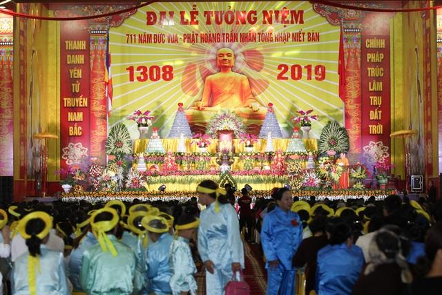 Hơn 5000 Phật tử về Yên Tử dự lễ tưởng niệm Phật hoàng Trần Nhân Tông - 2
