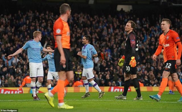 Man City giành vé đi tiếp sau trận hòa nhẹ trước Shakhtar - 3