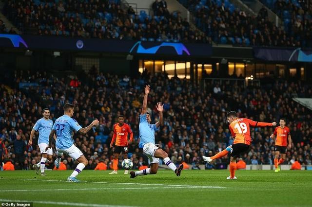 Man City giành vé đi tiếp sau trận hòa nhẹ trước Shakhtar - 4