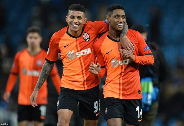 Man City giành vé đi tiếp sau trận hòa nhẹ trước Shakhtar - 2