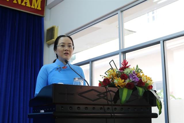 Bà Nguyễn Thị Ngọc Bích thôi giữ chức Chủ tịch Hội Liên hiệp Phụ nữ TPHCM - 1