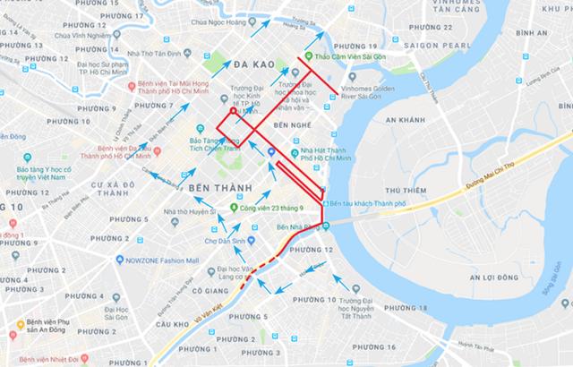 TPHCM cấm xe nhiều tuyến đường trung tâm phục vụ giải marathon quốc tế - 1
