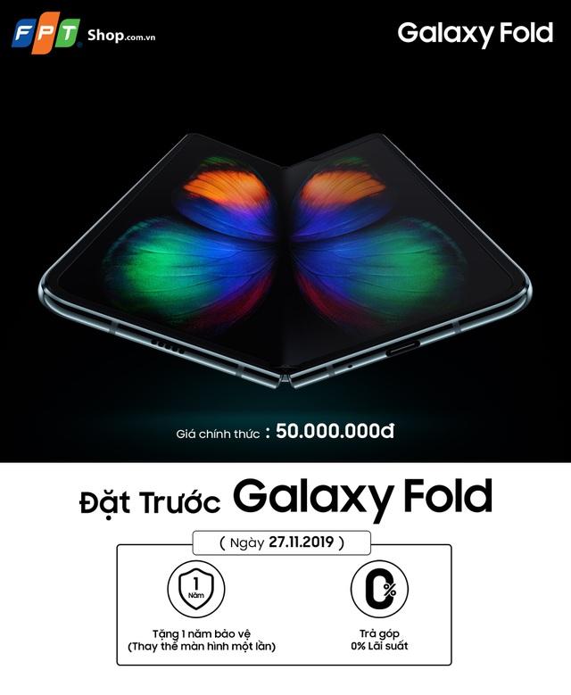 FPT Shop cho đặt trước Galaxy Fold với số lượng giới hạn - 1