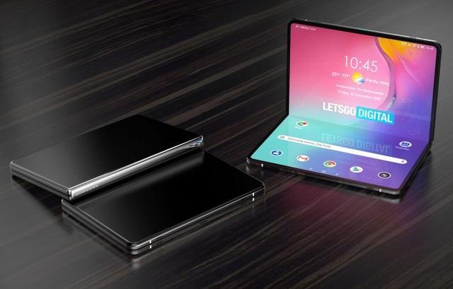 """Samsung tiếp tục """"chơi lớn"""" với máy tính bảng gập được - 1"""