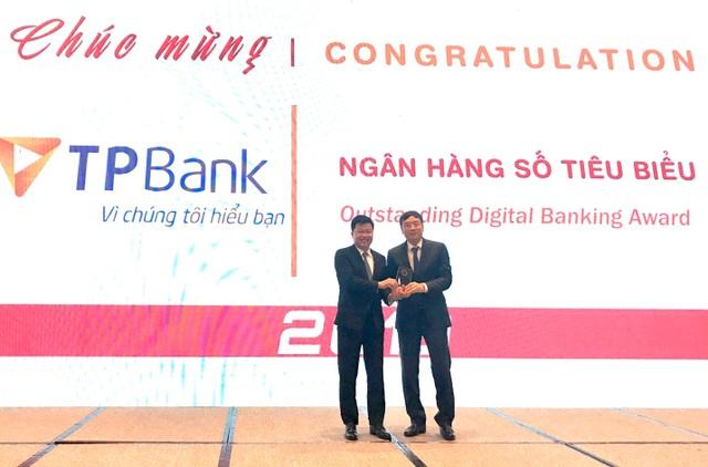 TPBank tiếp tục được vinh danh là Ngân hàng số tiêu biểu - 1