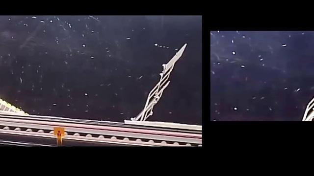 Vật thể bí ẩn bất ngờ xuất hiện sau lưng phi hành gia trên trạm ISS - 2