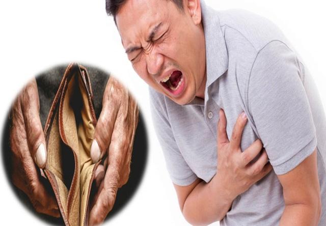 Điều kiện kinh tế bấp bênh làm tăng nguy cơ… mắc bệnh tim mạch - 1
