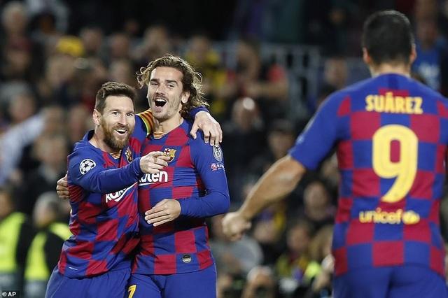 Atletico - Barcelona: Ngày về của Griezmann - 2
