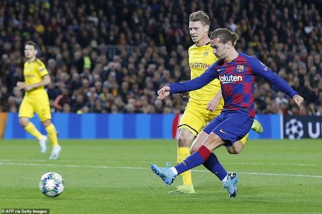 Messi tỏa sáng, Barcelona hạ Dortmund và giành vé đi tiếp - 6