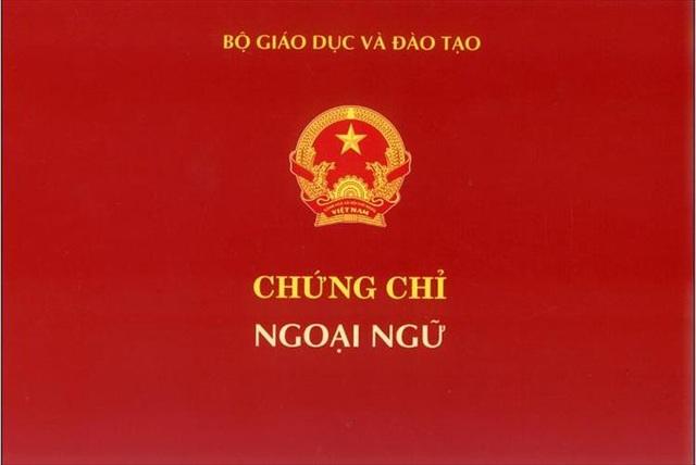 Bộ Giáo dục - Đào tạo chính thức bãi bỏ quy định về chứng chỉ ngoại ngữ - 1
