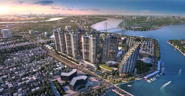 Dự án căn hộ resort tại Quận 7, TPHCM đào sông trong lòng dự án, phát triển 4.000 vườn nhiệt đới trên không - 1