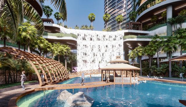 Dự án căn hộ resort tại Quận 7, TPHCM đào sông trong lòng dự án, phát triển 4.000 vườn nhiệt đới trên không - 4