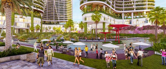 Dự án căn hộ resort tại Quận 7, TPHCM đào sông trong lòng dự án, phát triển 4.000 vườn nhiệt đới trên không - 5