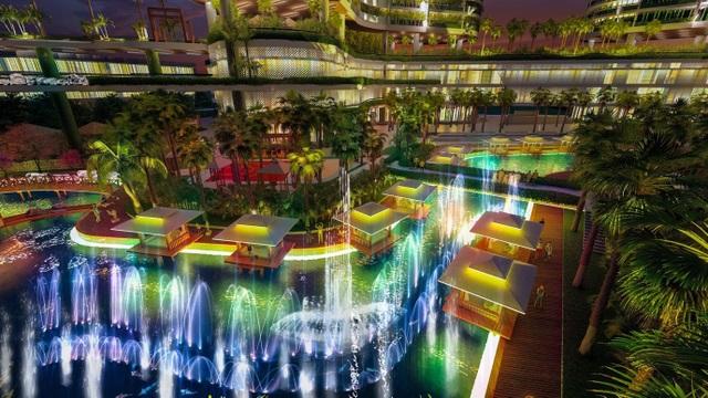 Dự án căn hộ resort tại Quận 7, TPHCM đào sông trong lòng dự án, phát triển 4.000 vườn nhiệt đới trên không - 6