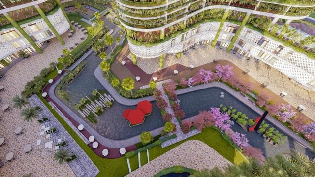 Dự án căn hộ resort tại Quận 7, TPHCM đào sông trong lòng dự án, phát triển 4.000 vườn nhiệt đới trên không - 7