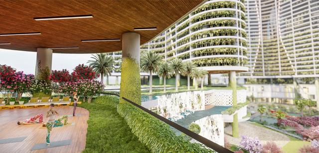 Dự án căn hộ resort tại Quận 7, TPHCM đào sông trong lòng dự án, phát triển 4.000 vườn nhiệt đới trên không - 8