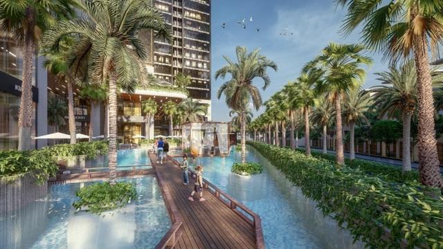 Dự án căn hộ resort tại Quận 7, TPHCM đào sông trong lòng dự án, phát triển 4.000 vườn nhiệt đới trên không - 10