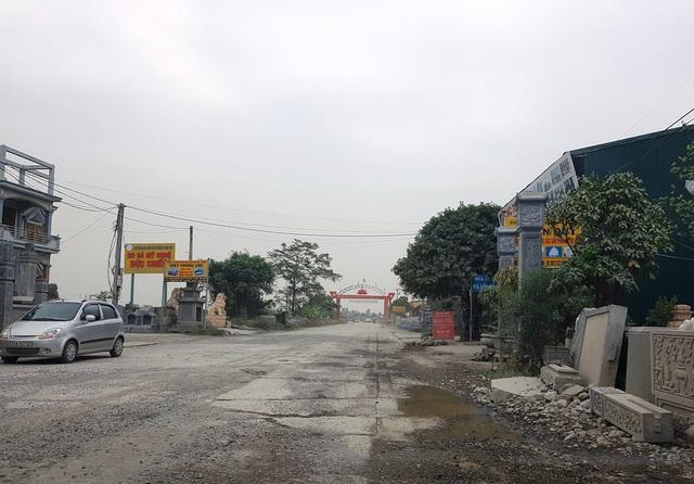 """Ninh Bình: Cận cảnh tuyến đường hơn 100 tỷ đồng chưa bàn giao đã """"nát bét""""! - 4"""