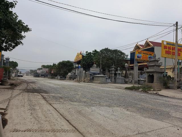 """Ninh Bình: Cận cảnh tuyến đường hơn 100 tỷ đồng chưa bàn giao đã """"nát bét""""! - 12"""