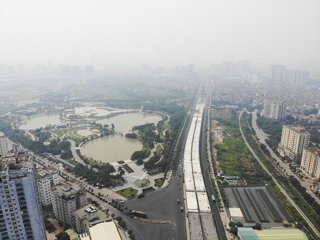 Hà Nội: Diện mạo nhếch nhác tại tuyến đường 3.100 tỷ vừa thông xe - 1