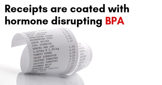Giấy in hóa đơn và những tác hại không ngờ từ chất độc Bisphenol-A - 1