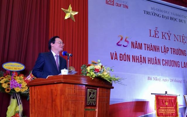 Trường ĐH Duy Tân đón nhận Huân chương Lao động hạng Nhất - 2