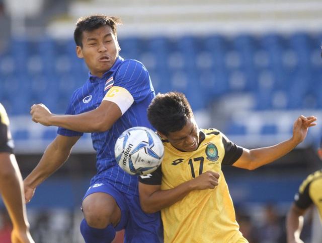 Báo Thái Lan ca ngợi đội nhà sau trận thắng đậm U22 Brunei