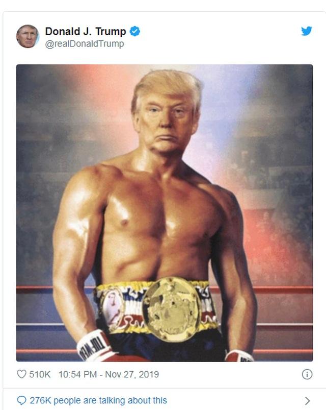 Ảnh ghép ngực trần của ông Trump gây xôn xao  - 1
