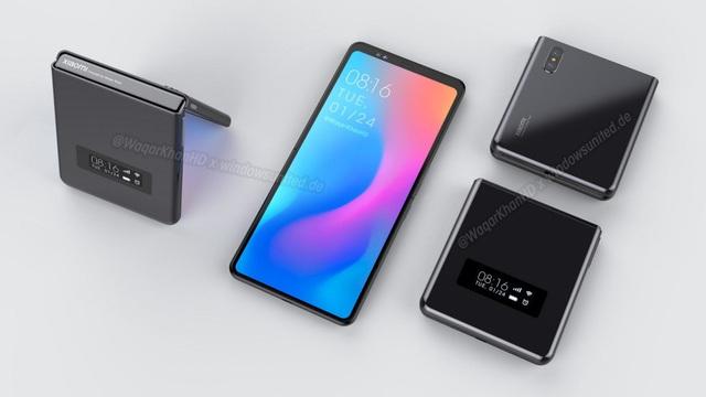 """Hình ảnh hé lộ về điện thoại gập được """"siêu độc của Xiaomi - 1"""