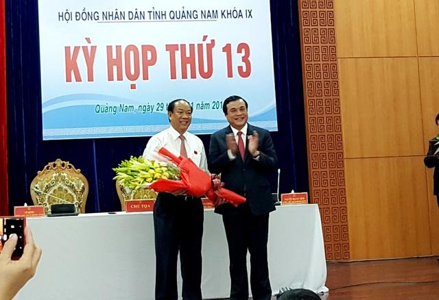 Tỉnh Quảng Nam có Chủ tịch tỉnh mới