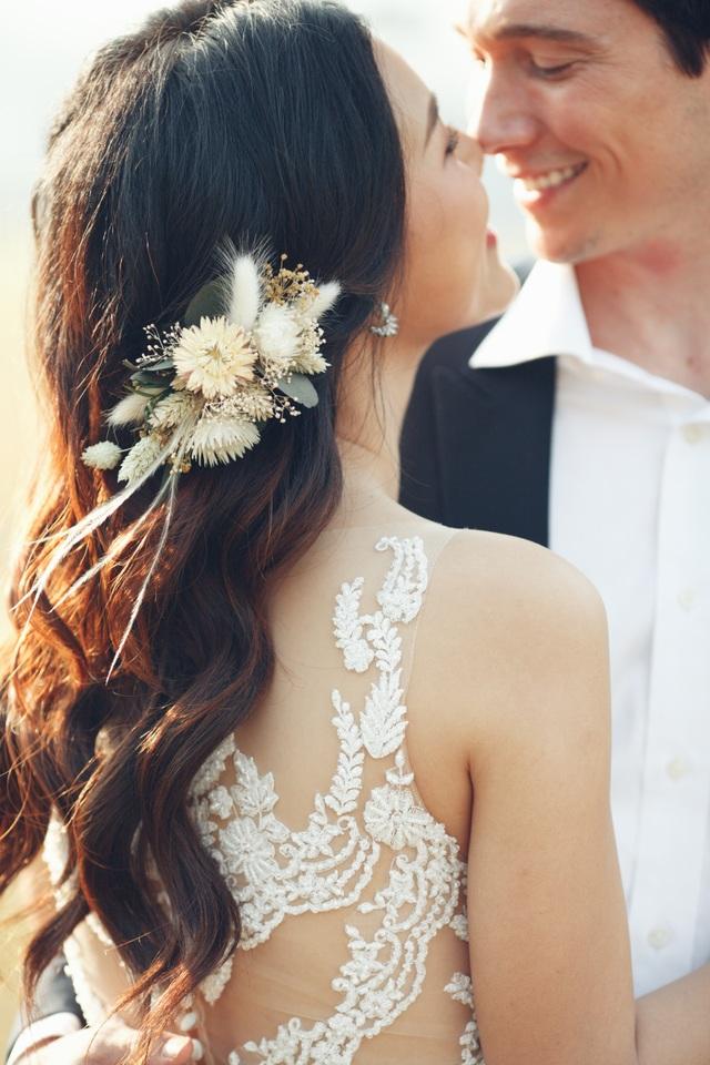 Trước thềm hôn lễ với chồng Tây, Hoàng Oanh khoe trọn ảnh cưới như mơ - 3