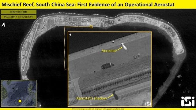 Lộ ảnh nghi khinh khí cầu Trung Quốc do thám quân sự ở Trường Sa - 1