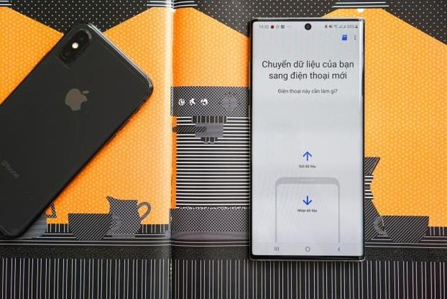 Cách chuyển dữ liệu từ iPhone sang Galaxy Note10 nhanh chóng - 2
