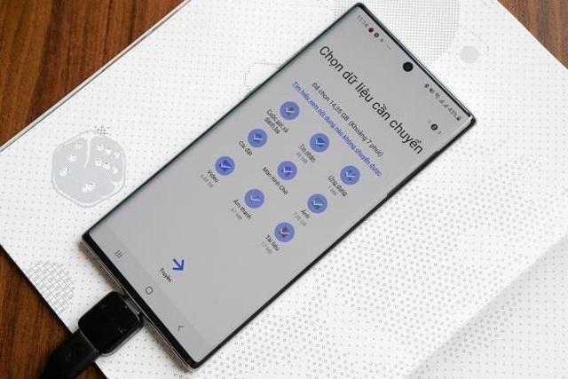 Cách chuyển dữ liệu từ iPhone sang Galaxy Note10 nhanh chóng - 4