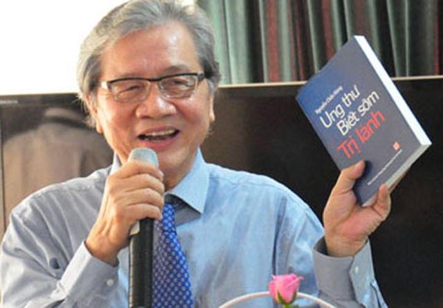 PGS. TS Nguyễn Chấn Hùng                                 Nguyên Giám đốc BV Ung bướu TP. Hồ Chí Minh                                 Chủ tịch Hội Ung thư Việt Nam