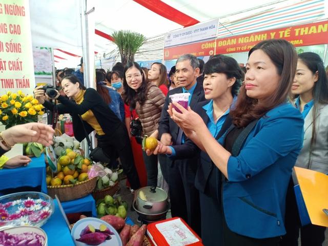 Khoảng 7.000 công nhân dự Ngày hội công nhân - Phiên chợ nghĩa tình  - 4