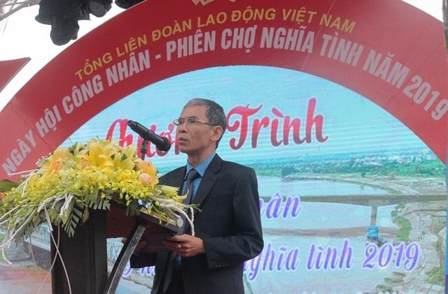 Khoảng 7.000 công nhân dự Ngày hội công nhân - Phiên chợ nghĩa tình  - 1