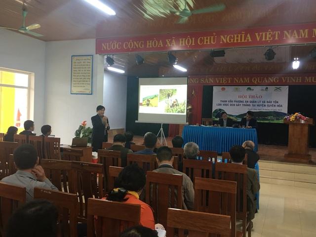 Bảo vệ loài voọc đen gáy trắng quý hiếm trên 6 khối núi đá vôi ở Quảng Bình - 1