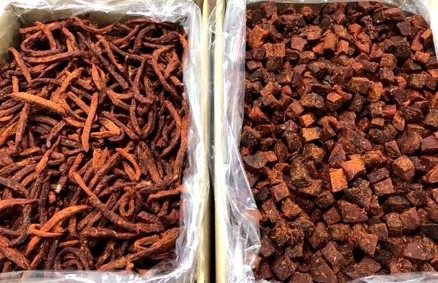 Thịt bò khô 100 ngàn đồng/kg, rùng mình câu trả lời của người bán - 1