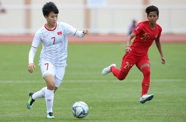 Đội tuyển nữ Việt Nam gặp Philippines ở bán kết SEA Games 30 - 1