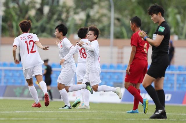 Đội tuyển nữ Việt Nam gặp Philippines ở bán kết SEA Games 30 - 2