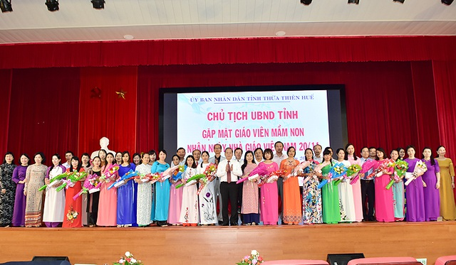 Thừa Thiên Huế: Xem xét tuyển dụng đặc cách với các giáo viên ký hợp đồng lao động trước 2016 - 1